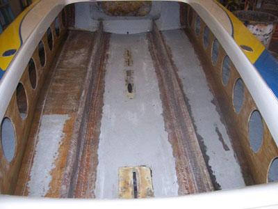 Stringer Boat Floor Replacement
